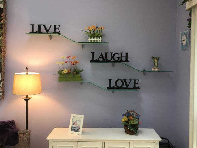 We display our philosophy proudly!